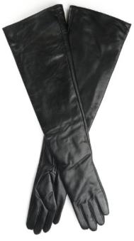 Ambesi Women's Fleece Lined Opera Long Lambskin Leather Winter Gloves Fall Holiday 2015- The Want List- Fashion Needs Jesus