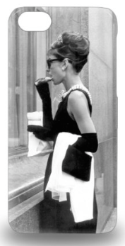 Audrey Hepburn Breakfast At Tiffany S Comedy 3D PC Case Cover For Iphone 5c ( Custom Picture iPhone 6, iPhone 6 PLUS, iPhone 5, iPhone 5S, iPhone 5C, iPhone 4, iPhone 4S,Galaxy S6,Galaxy S5) Fall Winter Christmas Gift Trends NYC-The Want List-Fashion