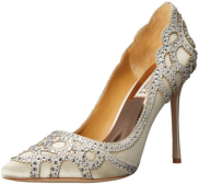 Badgley Mischka Women's Ivory crystal Dress Pump Fall Winter Christmas Party 2015 Trends-The Want List-Fashion Needs Jesus