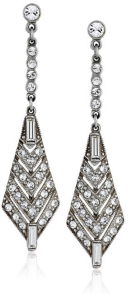 Ben-Amun Jewelry %22Crystal Deco%22 Crystal Triangular Drop Earrings-Fall Winter Christmas Party Trends 2015-Fashion Needs Jesus-The Want List