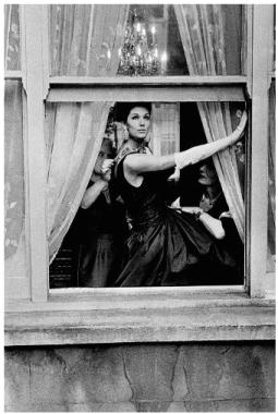 British Vogue A, Simone Daillancourt in Window, 1961, Frank Horvat-Fashion Needs Jesus- The Want List
