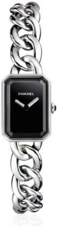 Chanel Premiere Black Dial Stainless Steel Ladies Watch H3248 silver-Fall Winter Christmas Gift Trends 2015-Fashion Needs Jesus-The Want LIst
