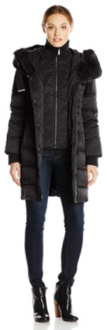 Elie Tahari Women's Down Coat with Fur Hood- Fall Winter 2015- The Want List- Fashion Needs Jesus