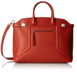 Furla Alice Large Top Handle Bag Leather Maple Orange Fall Winter Christmas 2015 Trends NYC-The Want List- Fashion Needs Jesus