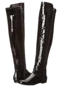 Giuseppe Zanotti Women's Over-The-Knee Embossed Leather Boot Fall 2015 - The Want List- Fashion Needs Jesus