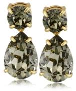 Kate Spade New York Black Diamond Drop Earrings Fall 2015 - The Want List- Fashion Needs Jesus