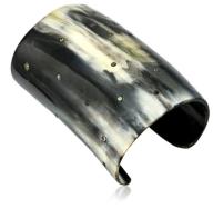 M.C.L by Mathhew Campbell Laurenza %22Viking%22 sapphire dots horn bracelet cuff Fall l 2015 - The Want List- Fashion Needs Jesus