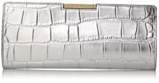 MILLY Isabella Croc Frame Clutch silver leather-fall winter Christmas 2015 trends-The Want List-Fashion Needs Jesus