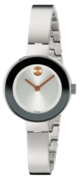 Movado Women's Silver tone w: gold tone luxury watch gift guide 2015-Fashion Needs Jesus-The Want List