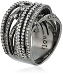 nOir Jewelry  Pave Interlaced Wrap Ring-Fall Winter Christmas Cocktail Trends 2015-Fashion Needs Jesus-The Want List