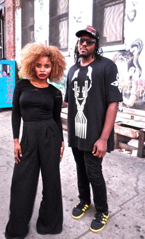 Aziza and Kyle