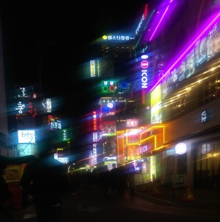 Blurry Gangnam 강남 on a Friday Night-Fashion Needs Jesus.jpg