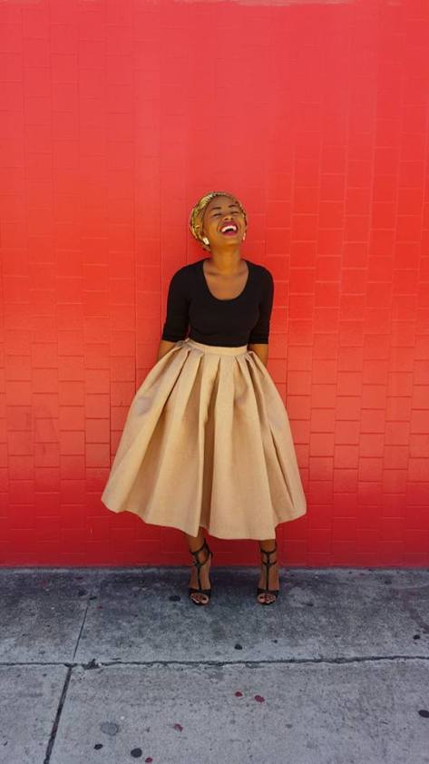 Ariane Fonseca, Fashion Designer for Yhaniqua Lopes